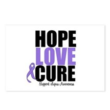 HopeLoveCure Lupus Postcards (Package of 8)