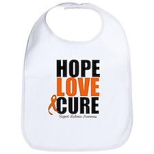 HopeLoveCure Leukemia Bib