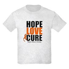 HopeLoveCure Leukemia T-Shirt