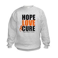 HopeLoveCure Leukemia Sweatshirt