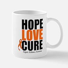 HopeLoveCure Leukemia Mug