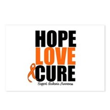 HopeLoveCure Leukemia Postcards (Package of 8)