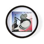 Liberty Flight Pigeon Wall Clock