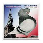 Liberty Flight Pigeon Tile Coaster