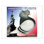 Liberty Flight Pigeon Small Poster