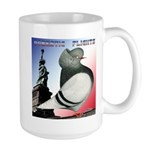 Liberty Flight Pigeon Large Mug