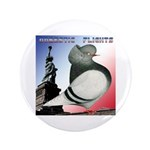 "Liberty Flight Pigeon 3.5"" Button"