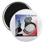 "Liberty Flight Pigeon 2.25"" Magnet (100 pack)"