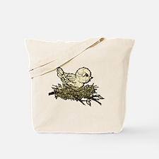 New Baby Bird Nesting Tote Bag