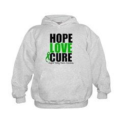 HopeLoveCure KidneyCancer Hoodie