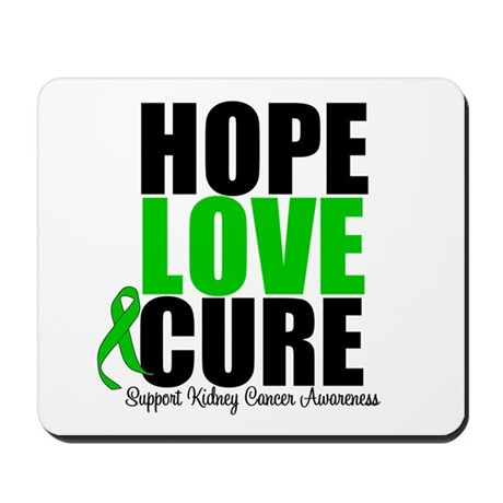 HopeLoveCure KidneyCancer Mousepad
