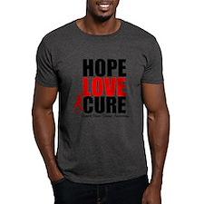 HopeLoveCure HeartDisease T-Shirt