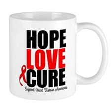 HopeLoveCure HeartDisease Mug