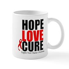 HopeLoveCure HeartDisease Mug