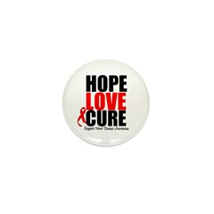 HopeLoveCure HeartDisease Mini Button (100 pack)