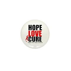 HopeLoveCure HeartDisease Mini Button (100 pack)