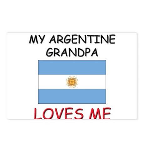 My Argentine Grandpa Loves Me Postcards (Package o