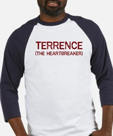 Terrence the heartbreaker Baseball Jersey