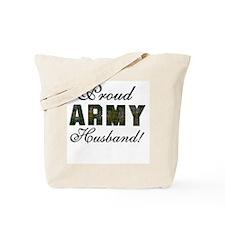 Proud Army Husband Tote Bag
