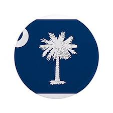 "Beloved South Carolina Flag M 3.5"" Button"