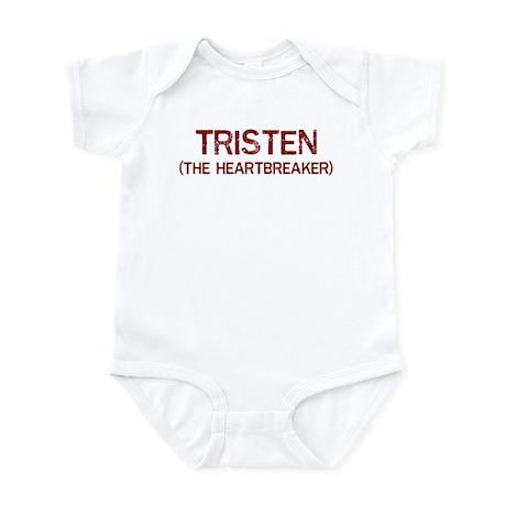 Tristen the heartbreaker Infant Bodysuit