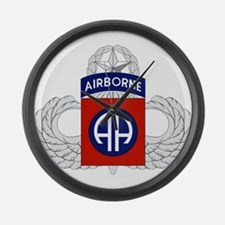 82nd Airborne Master Large Wall Clock
