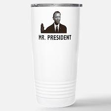 Barak Obama Mr. President Travel Mug