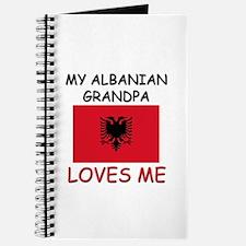 My Albanian Grandpa Loves Me Journal