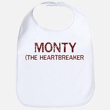 Monty the heartbreaker Bib