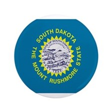 "Beloved South Dakota Flag Mod 3.5"" Button"