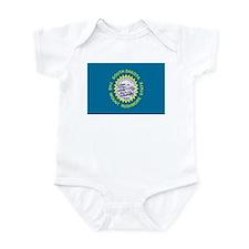 Beloved South Dakota Flag Mod Infant Bodysuit