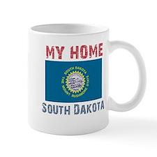 My Home South Dakota Vintage Mug