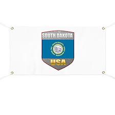 South Dakota USA Crest Banner