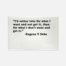 Eugene Debs Rectangle Magnet