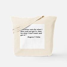Eugene Debs Tote Bag