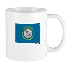 South Dakota Stripe Custom De Mug