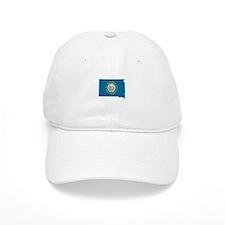 South Dakota Stripe Custom De Baseball Cap