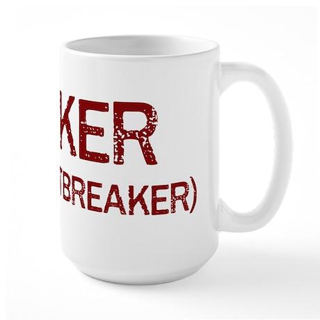 Parker the heartbreaker Large Mug