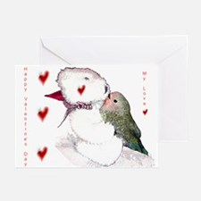 Valentine's Day Lovebird Greeting Cards (Pk of 10)