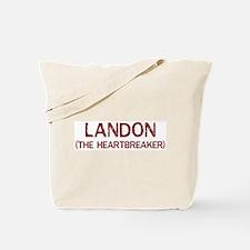 Landon the heartbreaker Tote Bag