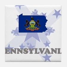 All Star Pennsylvania Tile Coaster