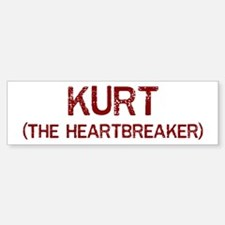 Kurt the heartbreaker Bumper Bumper Bumper Sticker