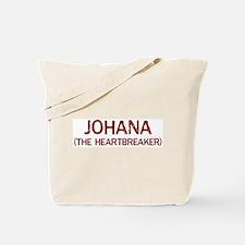 Johana the heartbreaker Tote Bag