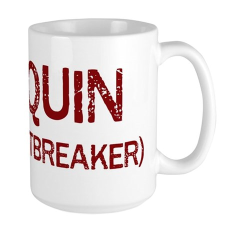 Joaquin the heartbreaker Large Mug