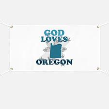 God Loves Oregon Banner