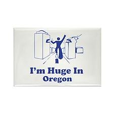 I'm Huge in Oregon Rectangle Magnet (10 pack)