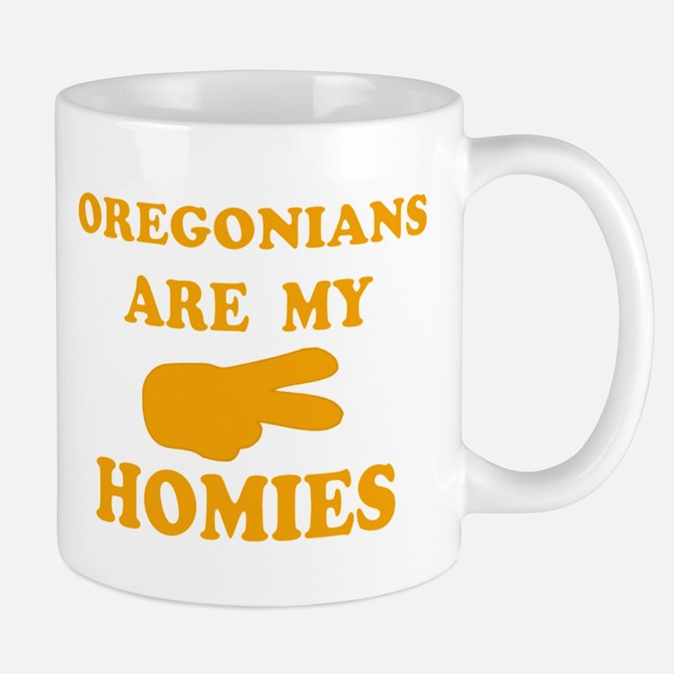 Oregonians are my homies Mug