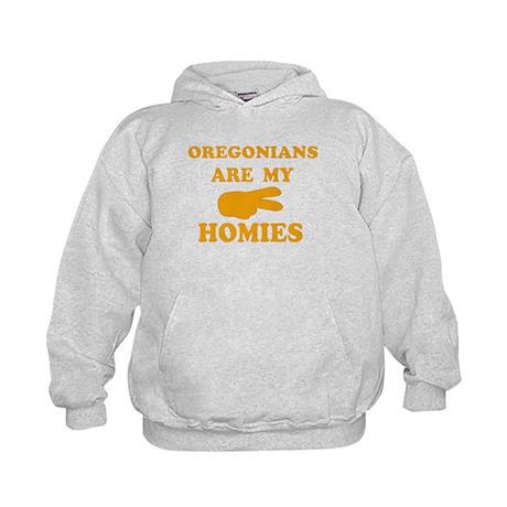 Oregonians are my homies Kids Hoodie