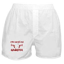 Oregonian Gangsta Boxer Shorts
