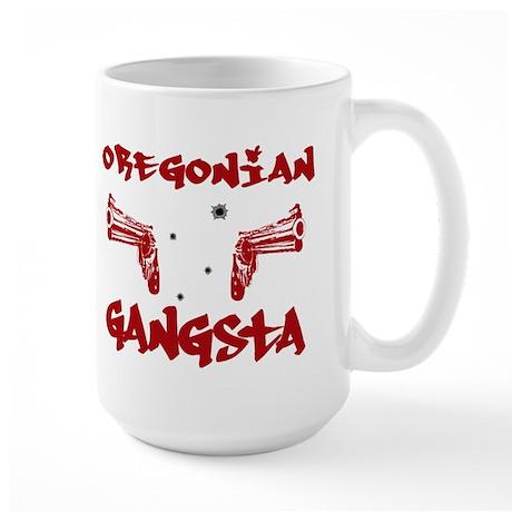 Oregonian Gangsta Large Mug